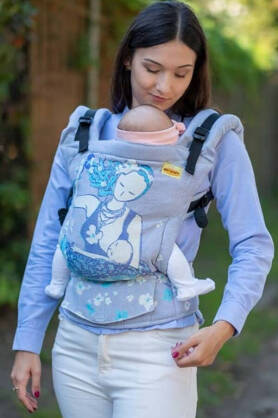 BABY Breastfeeding Sitting Mama, NATIGO carrier [100% Baumwolle]