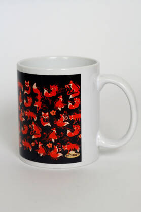 Becher NatiMug Foxes Brun
