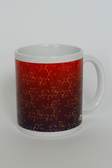 Becher NatiMug Oxytocin Crimson