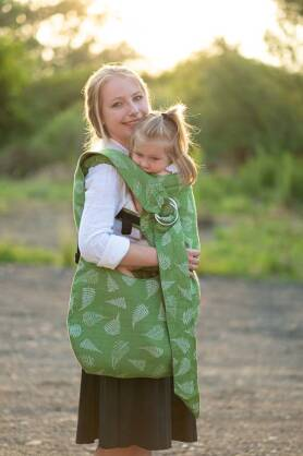 Hobo Bag Ferns Green