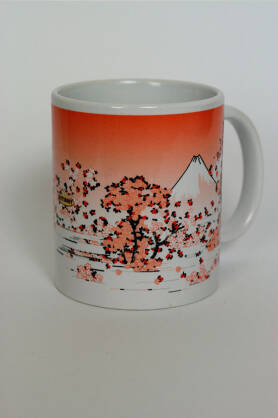 Becher NatiMug Mount Fuji Seen Though Cherry Blossom
