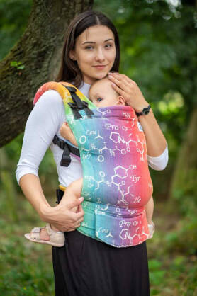 Oxytocin Koloro, NatiGrow Adjustable Carrier, [100% Baumwolle]