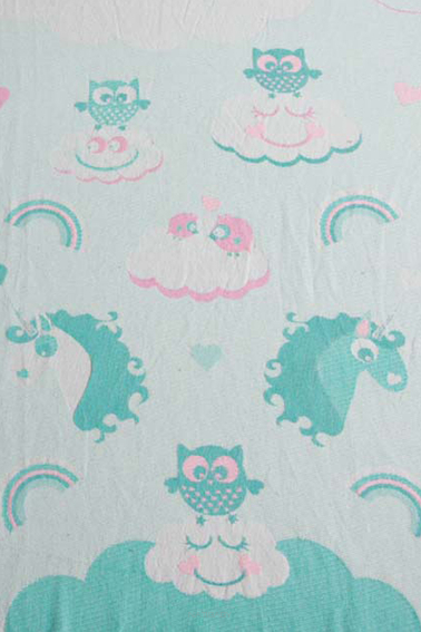 Unicorn Cotton Candy v1, RING SLING, [100% Baumwolle]