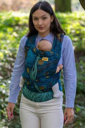 Starry Night, HALF BUCKLE CARRIER, [100% Baumwolle]