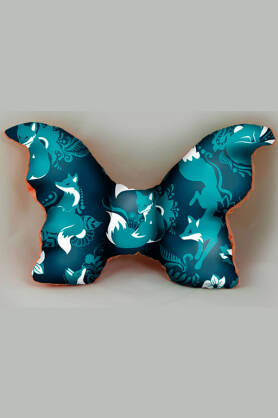 Poduszka Natillon Foxes Blue
