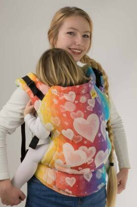BABY Love Forever, NATIGO carrier [100% Baumwolle]