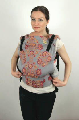 BABY Folk sunset, NATIGO carrier [100% Baumwolle]