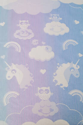 Unicorn Cotton Candy Aurora, RING SLING, [90% Baumwolle, 10% Polyester]