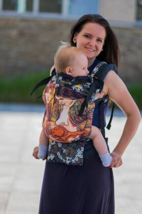 Motherhood, NatiGrow Adjustable Carrier, [100% Baumwolle]