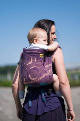 BABY Purple Planets, ONBUHIMO CARRIER, [100% Baumwolle]