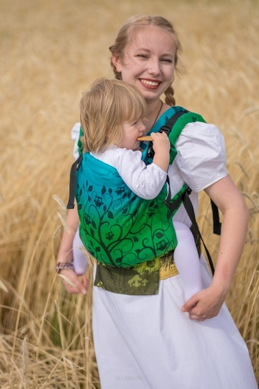 Magnificent Forest, NatiGrow Adjustable Carrier, [100% cotton]