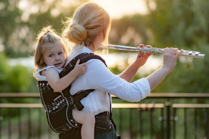 Passion with babywearing