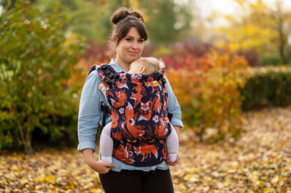 A comparison of different Natibaby carriers